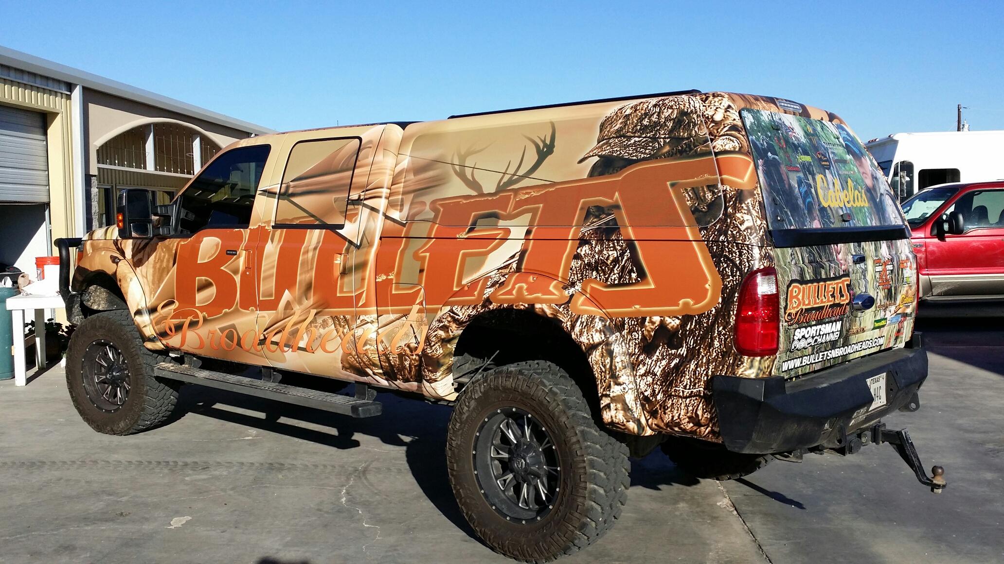 Graffix Xpress: Midland, TX: Car Wraps, Vehicle Graphics, Screen